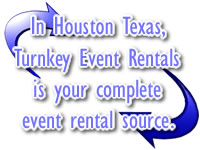Turn Key Event Rentals in Houston